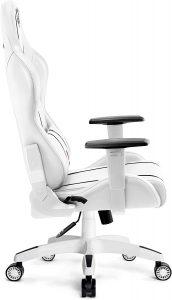Chaise gaming avec une conception ergonomique parfait pour le jeu et le travail