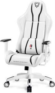 Chaise gaming confortable avec accoudoir réglable