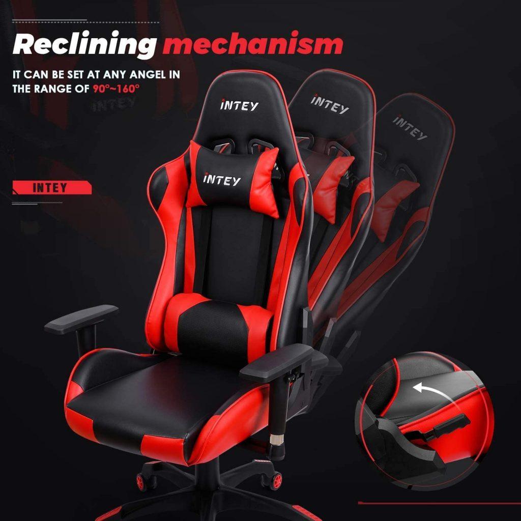 Chaise gaming confortable vous épargnant des douleurs de dos