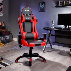 Chaise gaming résistant à l'usure, à l'eau et aux tâches