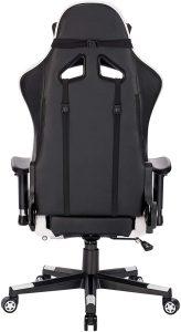 Chaise gaming ergonomique facile à installer et à nettoyer
