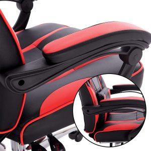 Chaise gaming réglable s'adaptant à une large gamme de taille